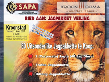 SAPA Hunting Packages Auction